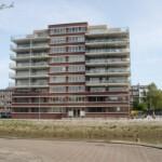 Vooraanzicht flat De Struysenburcht – Rotterdam